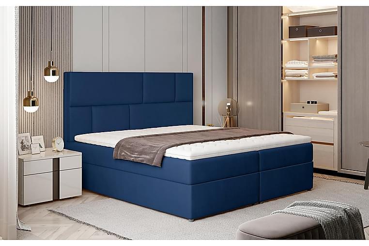 Sänkypaketti Maiano 160x200 cm - Sininen - Huonekalut - Sängyt - Sänkypaketti