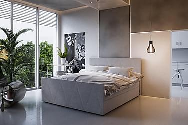Sänkypaketti Milano 160x200 Kuvioitu Pääty