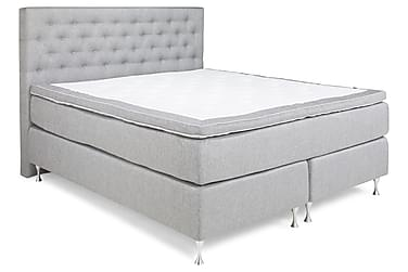 Sänkypaketti Mist 180x200 Vaaleanharmaa