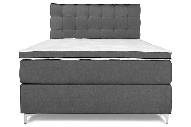Sänkypaketti Relax Basic Jenkkisänky 140x200 - Harmaa - Huonekalut - Sängyt - Sänkypaketti