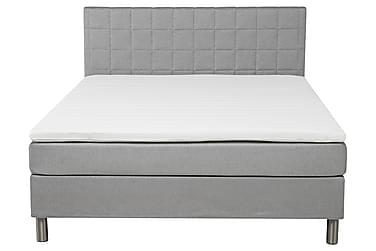 Sänkypaketti Solange 180 cm Vaaleanharmaa