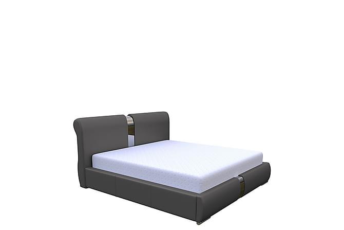 Sänky Reinsnes 160x200 - Grafiitti - Huonekalut - Sängyt