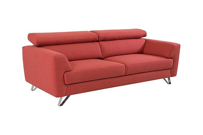 3:n ist Denham Sohva - Punainen - Huonekalut - Sohvat - 2-4 hengen sohvat