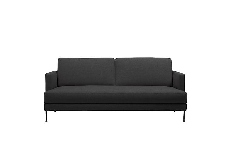 3:n ist Sohva Likkim - Musta - Huonekalut - Sohvat - 2-4 hengen sohvat
