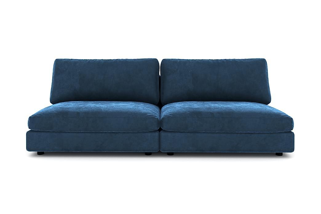Moduulisohva Aspen 3:n ist Sametti - Yönsininen - Huonekalut - Sohvat - 2-4 hengen sohvat
