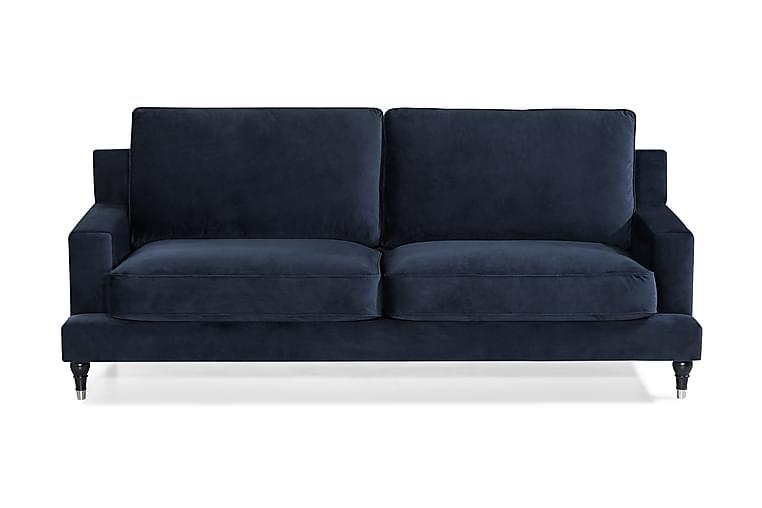 Sohva Bogesund 3:n ist Sametti - Huonekalut - Sohvat - Howard-sohvat