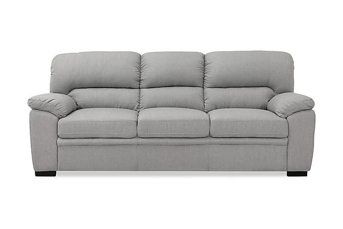 Sohva Carrere 3:n ist - Vaaleanharmaa - Huonekalut - Sohvat - 2-4 hengen sohvat