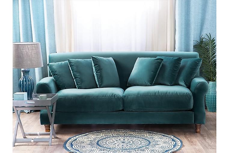 Sohva Eike 2-4:n ist - Sininen - Huonekalut - Sohvat - 2-4 hengen sohvat