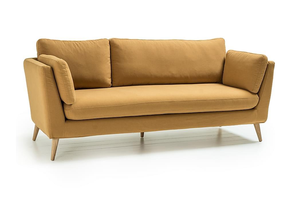 Sohva Espelund 3:n ist - Keltainen - Huonekalut - Sohvat - 2-4 hengen sohvat