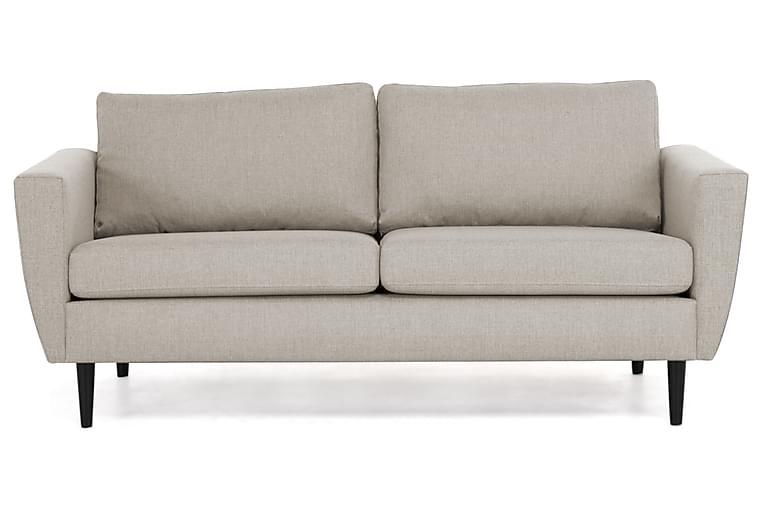 Sohva Hudson 3:n ist - Beige/Musta - Huonekalut - Sohvat - 2-4 hengen sohvat