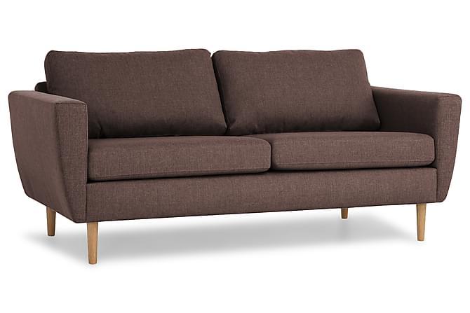 Sohva Hudson 3:n ist - Ruskea - Huonekalut - Sohvat - 2-4 hengen sohvat