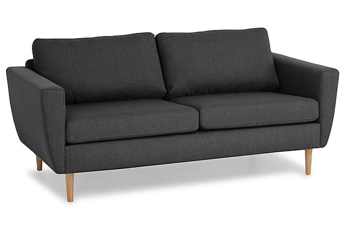 Sohva Hudson 3:n ist - Tummanharmaa - Huonekalut - Sohvat - 2-4 hengen sohvat