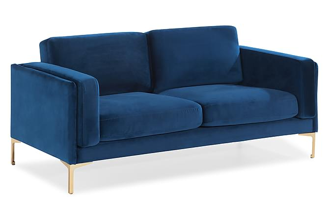 Sohva Jankin 2:n ist - Sininen - Huonekalut - Sohvat - 2-4 hengen sohvat