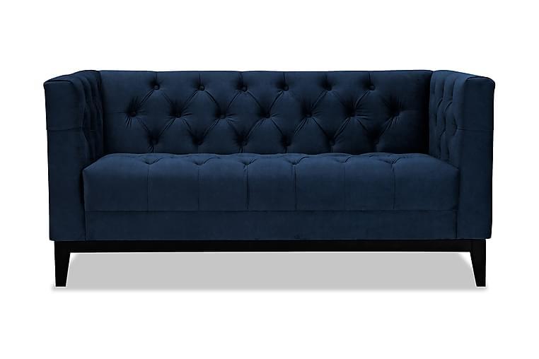 Sohva Noelia 2:n ist - Sininen - Huonekalut - Sohvat - 2-4 hengen sohvat