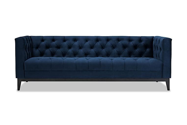 Sohva Noelia 3:n ist - Sininen - Huonekalut - Sohvat - 2-4 hengen sohvat