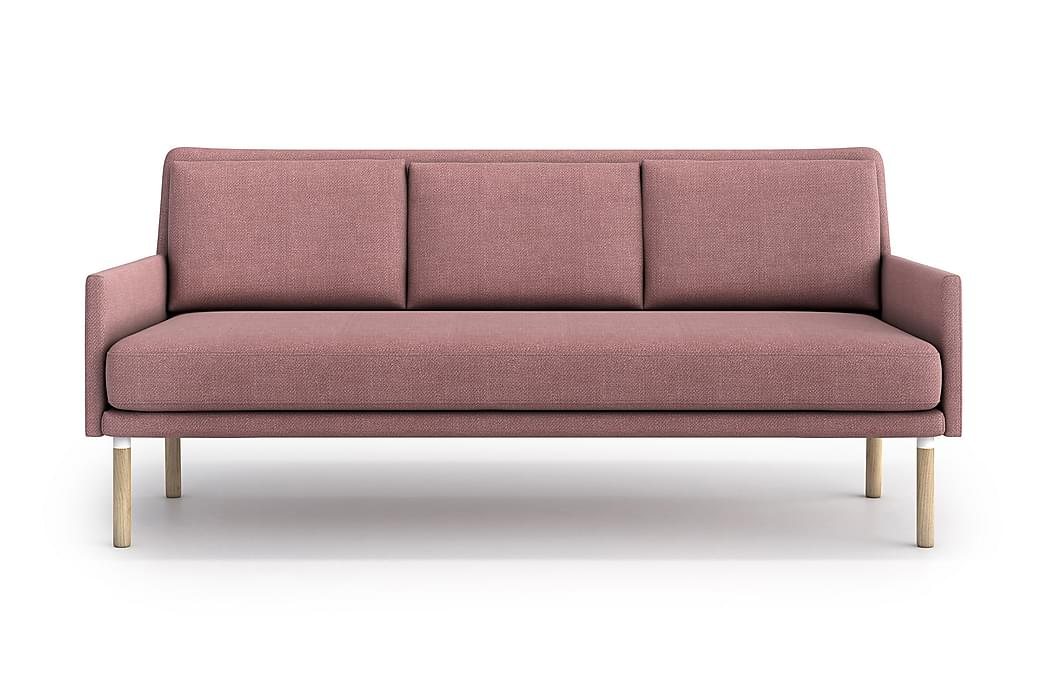 Sohva Nubia 3:n ist - Vaaleanpunainen - Huonekalut - Sohvat - 2-4 hengen sohvat