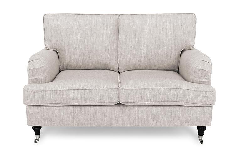 Sohva Oxford Classic 2:n ist - Beige - Huonekalut - Sohvat - Howard-sohvat