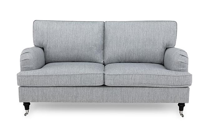 Sohva Oxford Classic 3:n ist - Harmaa - Huonekalut - Sohvat - Howard-sohvat