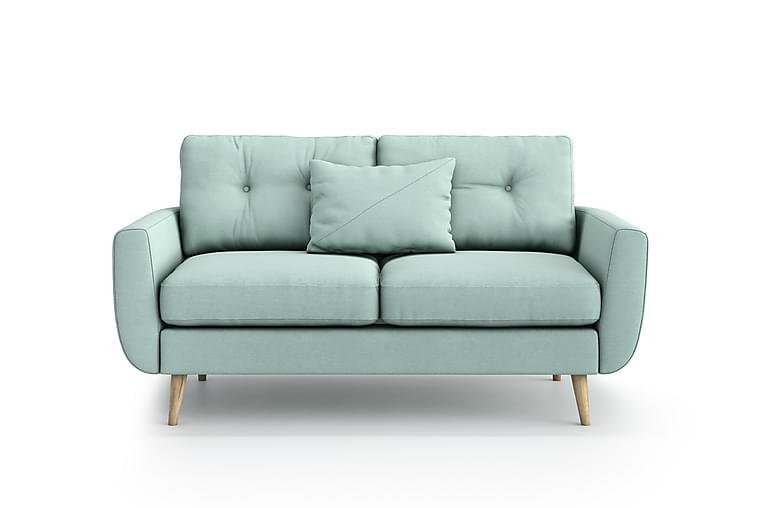 Sohva Yordan 2:n ist - Vihreä - Huonekalut - Sohvat - 2-4 hengen sohvat