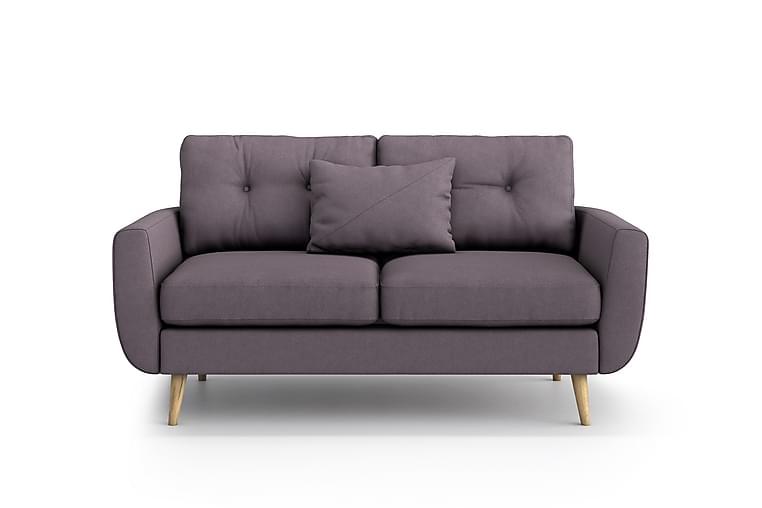 Sohva Yordan 2:n ist - Violetti - Huonekalut - Sohvat - 2-4 hengen sohvat