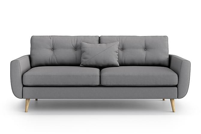 Sohva Yordan 3:n ist - Harmaa - Huonekalut - Sohvat - 2-4 hengen sohvat