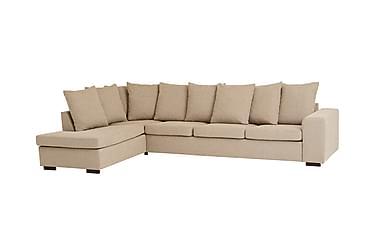 L-sohva Tronto Large Vasen Beige