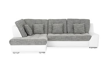 Sohva Gilpin 3:n ist avopäädyllä Vasen