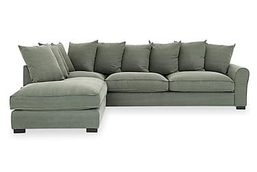 Sohva Hank 4:n ist avopäädyllä Vasen