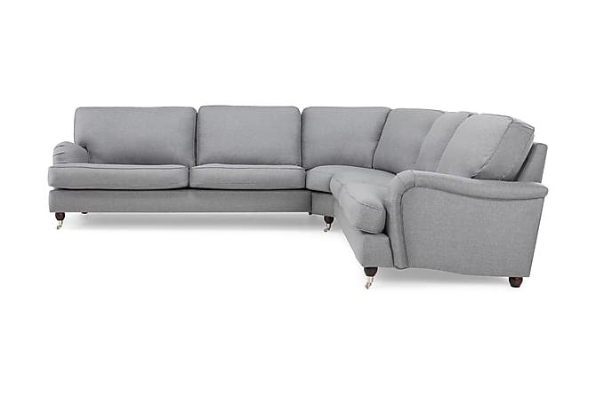 Kulmasohva Oxford Lyx Vasen - Vaaleanharmaa - Huonekalut - Sohvat - Howard-sohvat