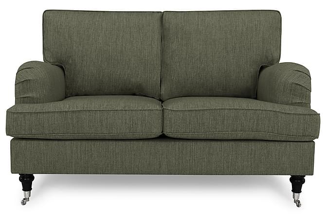 Sohva Oxford Classic 2:n ist - Oliivinvihreä - Huonekalut - Sohvat - Howard-sohvat