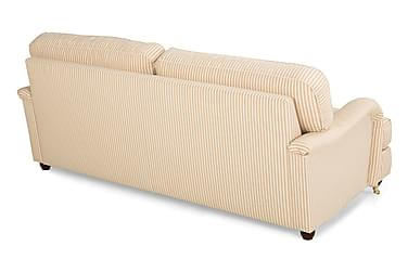 Sohva Oxford Deluxe 3:n ist Raidallinen