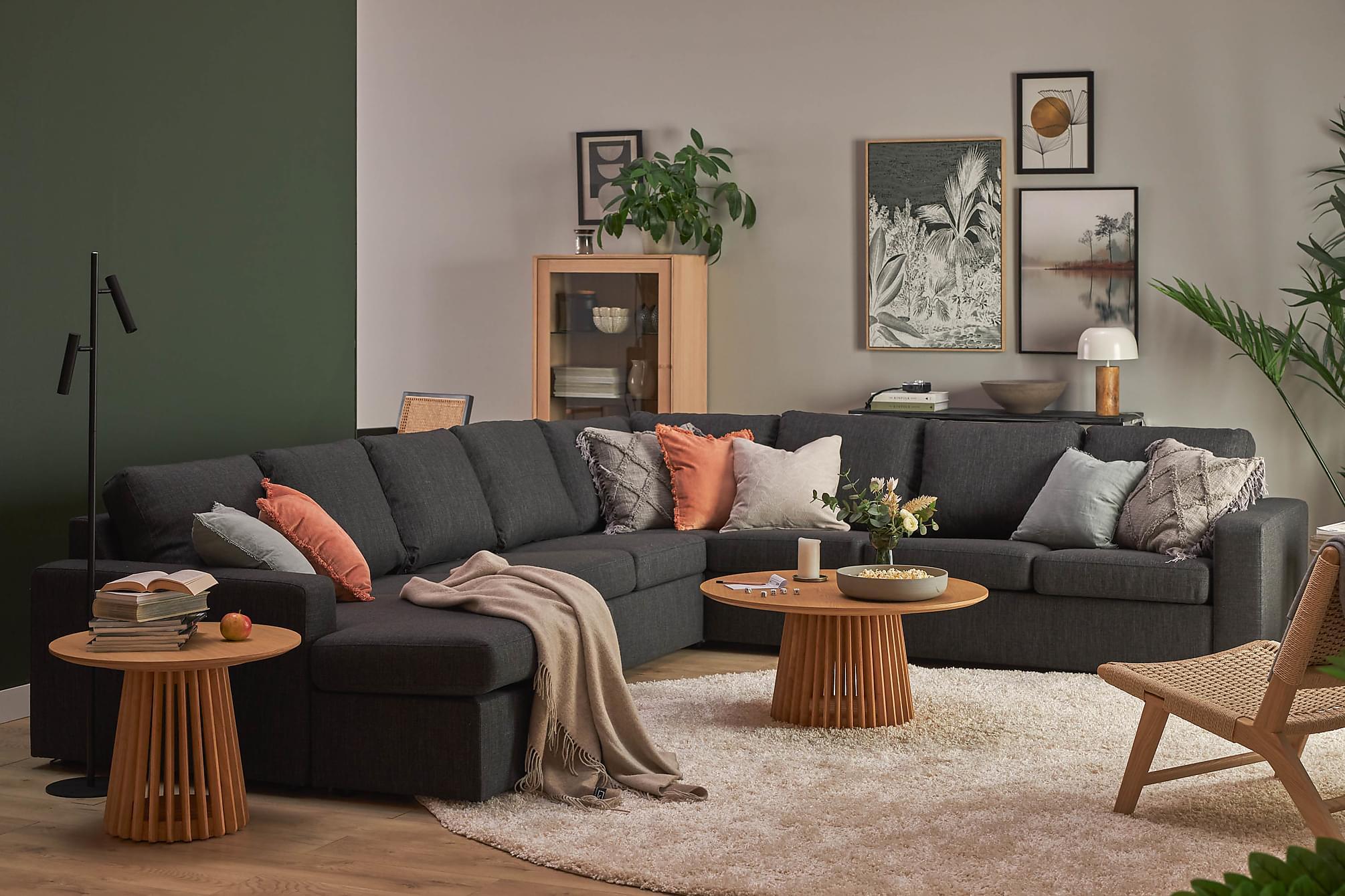 kulmasohva nevada 4 3 divaanilla antrasiitinharmaa. Black Bedroom Furniture Sets. Home Design Ideas