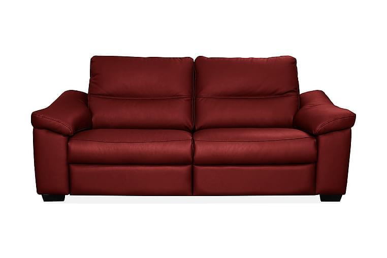 Sohva Hampton 2,5:n ist - Punainen - Huonekalut - Sohvat - Nahkasohvat