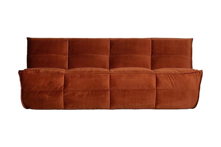3:n ist Sohva Pairola Sametti - Huonekalut - Sohvat - 2-4 hengen sohvat