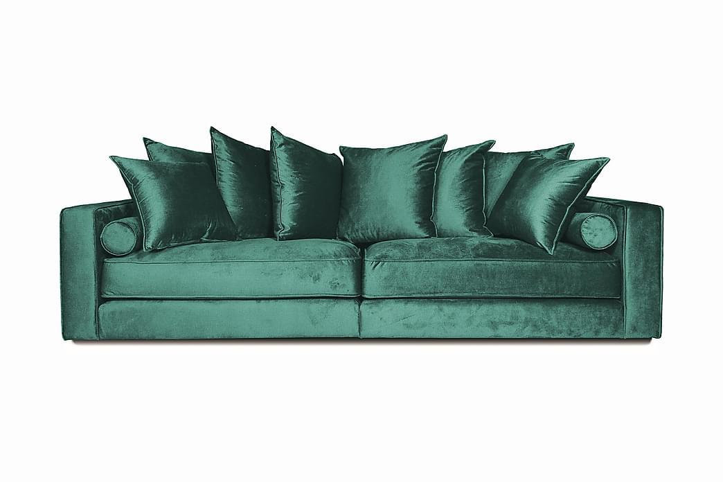 Samettisohva Ladywell 3:n ist - Sininen - Huonekalut - Sohvat - 2-4 hengen sohvat