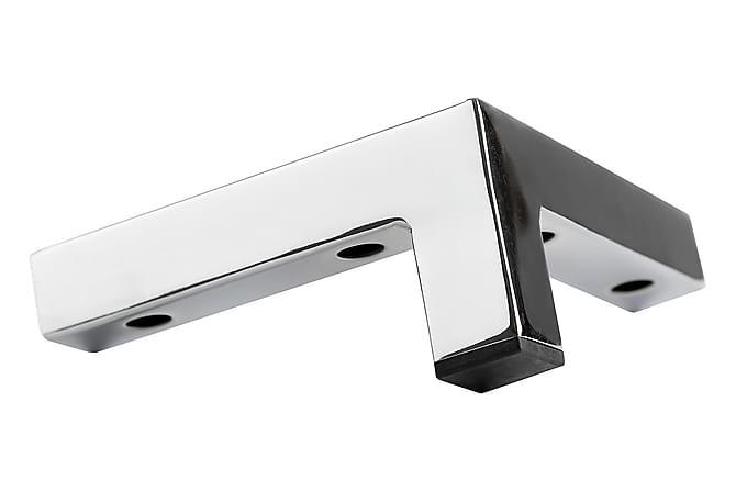 Jalat Malli C 6,5 cm Kromi - 10-pak - Huonekalut - Sohvat - Sohvan lisäosat