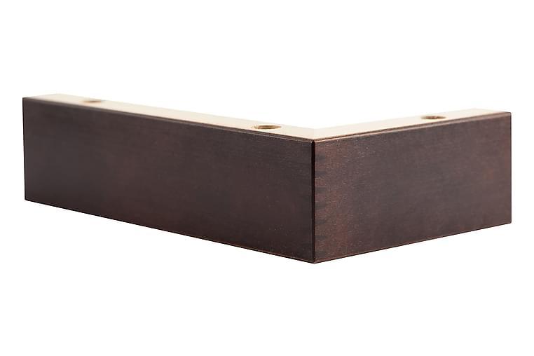 Jalat Malli H 5 cm Ruskea - 4-Pakkaus - Huonekalut - Sohvat - Sohvan lisäosat