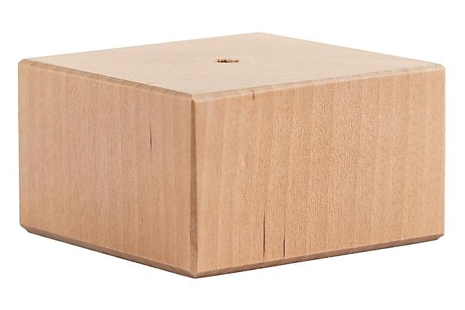 Jalat Malli J 4 cm Koivu - 8-Pakkaus - Huonekalut - Sohvat - Sohvan lisäosat