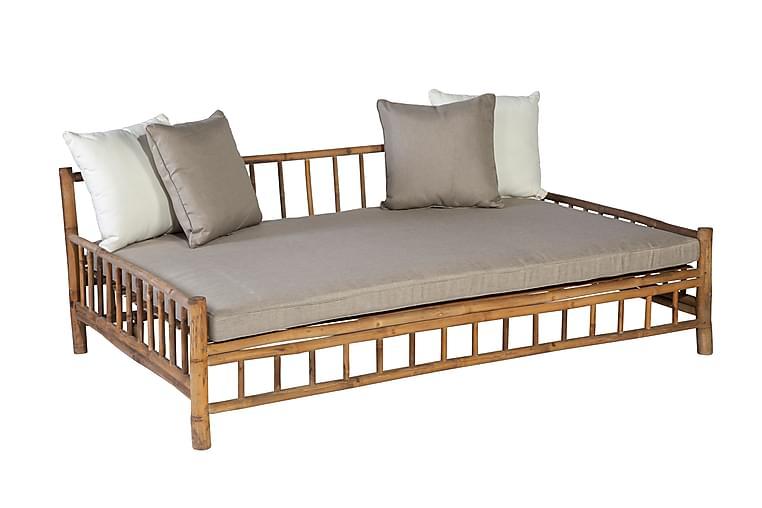 Päivävuode Bamboo - Ruskea - Huonekalut - Sohvat - 2-4 hengen sohvat