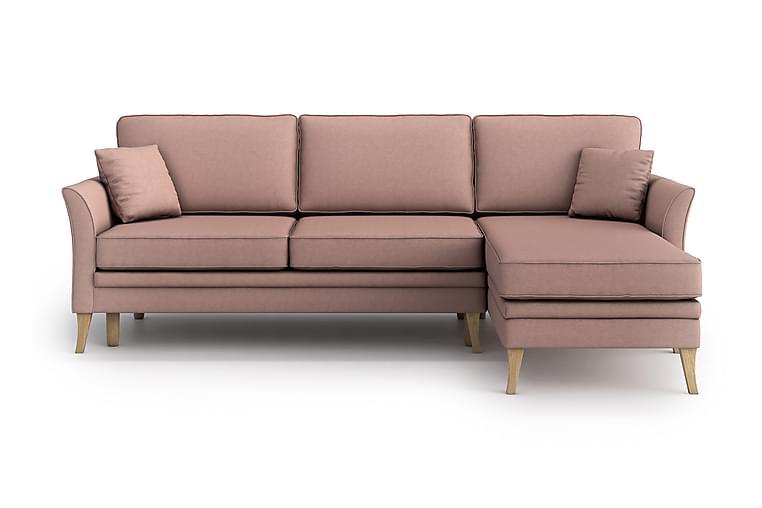 Divaanivuodesohva Lacomfort - Vaaleanpunainen - Huonekalut - Sohvat - Vuodesohvat