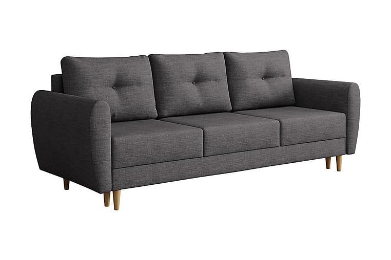 Sohva Hulared - Harmaa - Huonekalut - Sohvat - 2-4 hengen sohvat