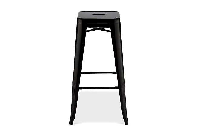 Baarituoli Artem - Musta - Huonekalut - Tuolit - Baarituolit