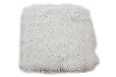 Tuolin pehmuste Fluff 35x35 cm Akryyli Valkoinen