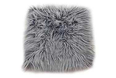 Tuolin pehmuste Fluff Akryyli 35x35 cm Harmaa