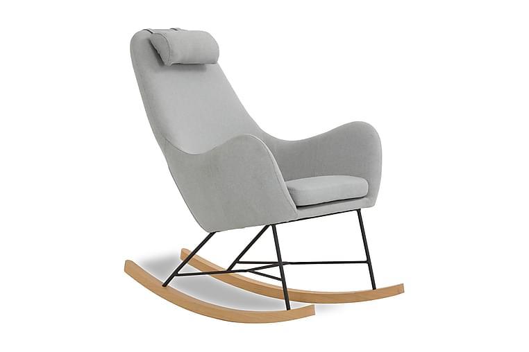 Keinutuoli Harmaa Tekstiili - Huonekalut - Tuolit - Pyörivät tuolit & Keinutuolit