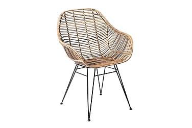 Käsinojallinen tuoli Koriander Rottinki