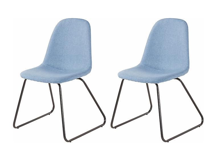 Keittiötuoli Colombo 2-pak - Sininen/Metalli - Huonekalut - Tuolit - Ruokatuolit