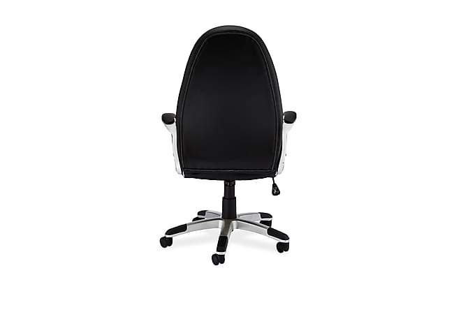 Työtuoli Gamy 4 - Musta/Valkoinen - Huonekalut - Tuolit - Työtuolit