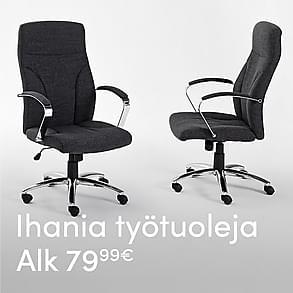 Ihania työtuoleja alk. 79,99 €