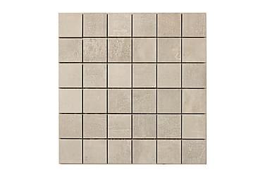 Concrete Dark Grey Mosaiikki 30X30